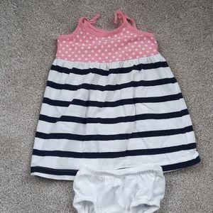 Baby Gap Dress w Matching Bloomers